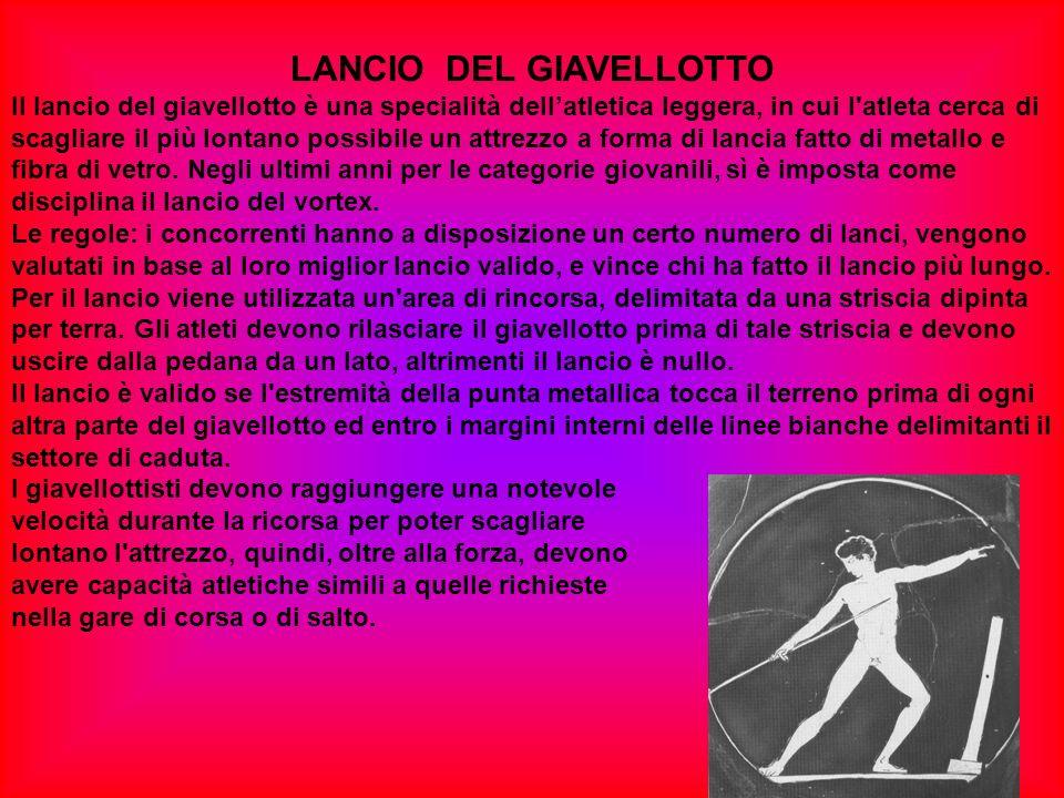 LANCIO DEL GIAVELLOTTO