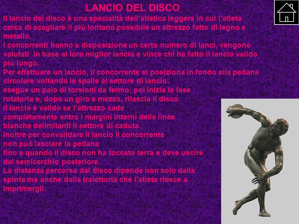 LANCIO DEL DISCO