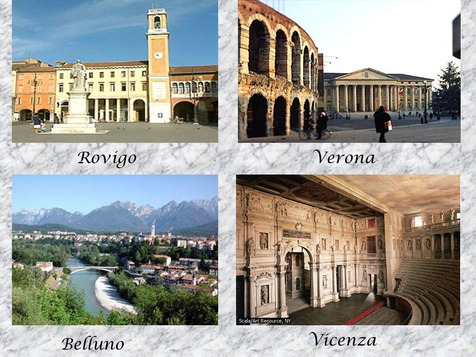 Rovigo Verona Vicenza Belluno