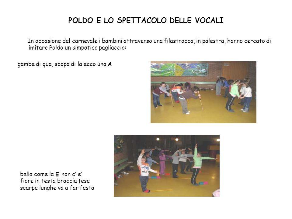 POLDO E LO SPETTACOLO DELLE VOCALI