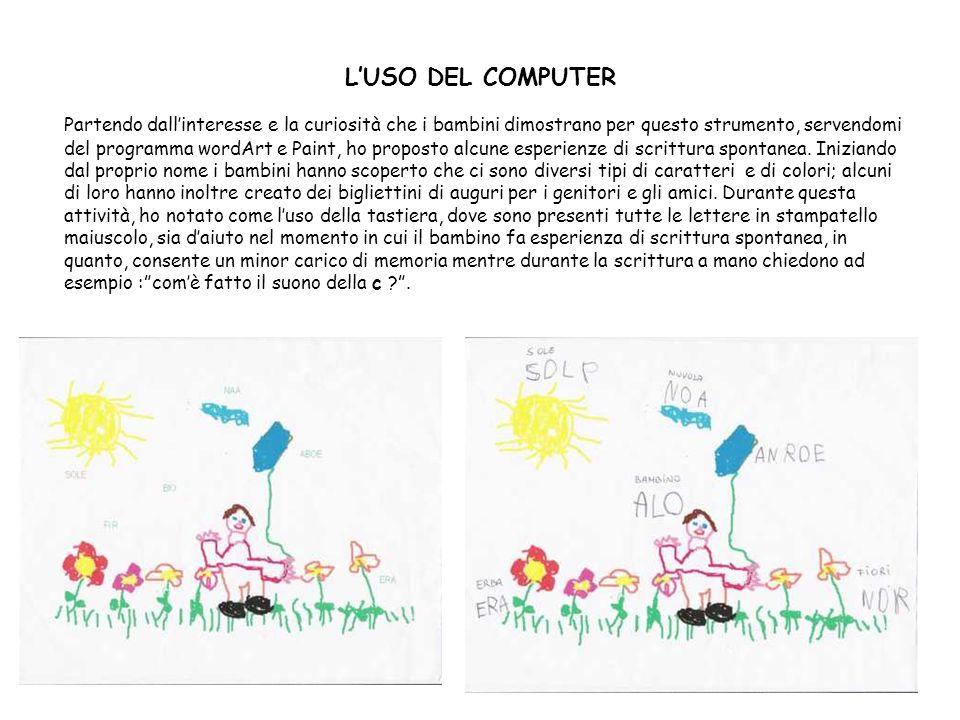 L'USO DEL COMPUTER