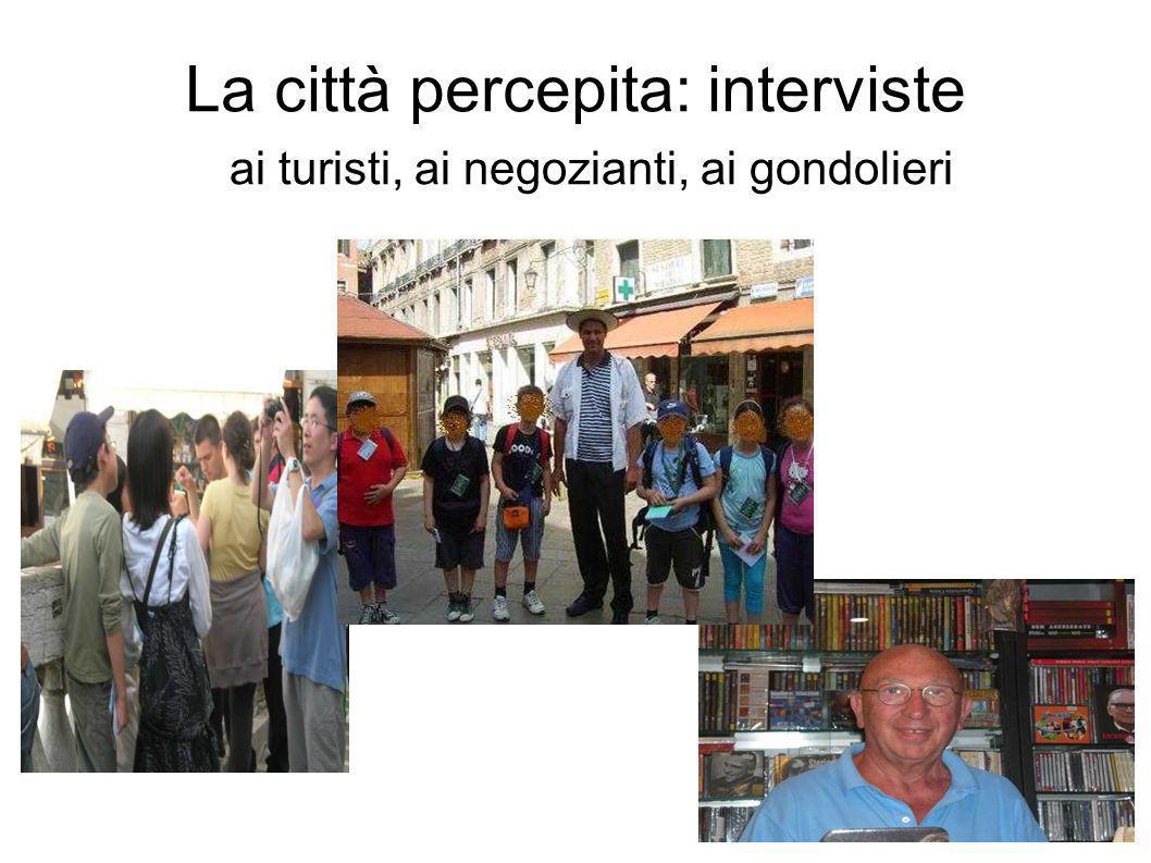 La città percepita: interviste