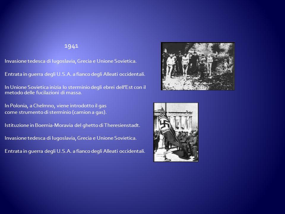 1941 Invasione tedesca di Iugoslavia, Grecia e Unione Sovietica.