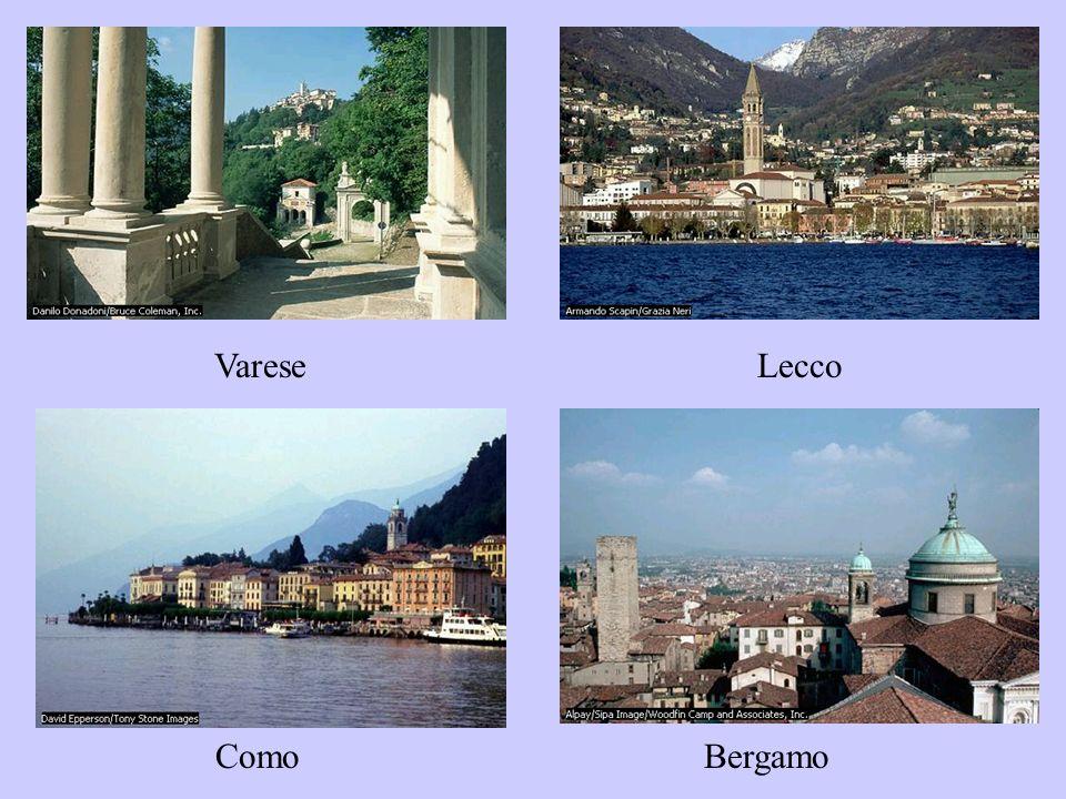Varese Lecco Como Bergamo
