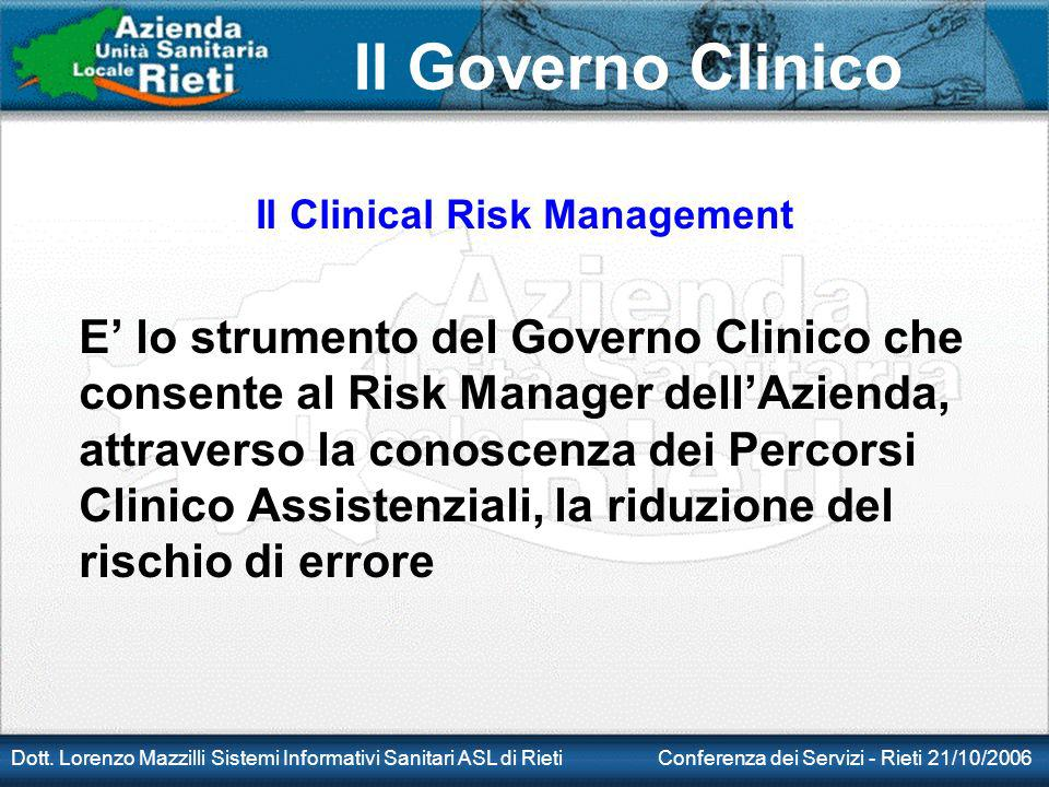 Il Clinical Risk Management