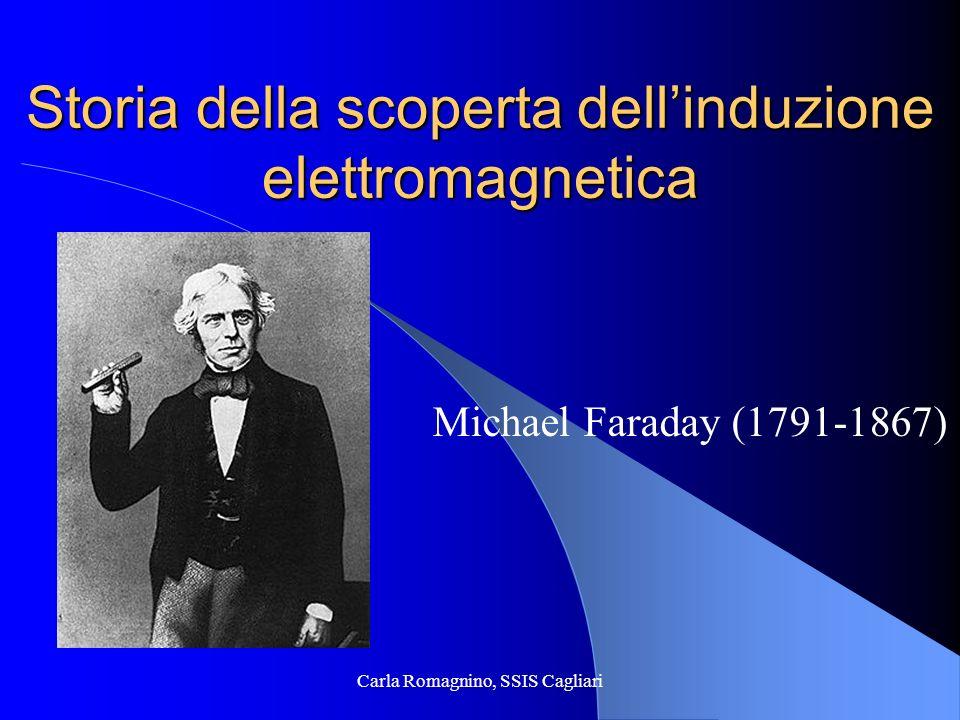 Storia della scoperta dell'induzione elettromagnetica