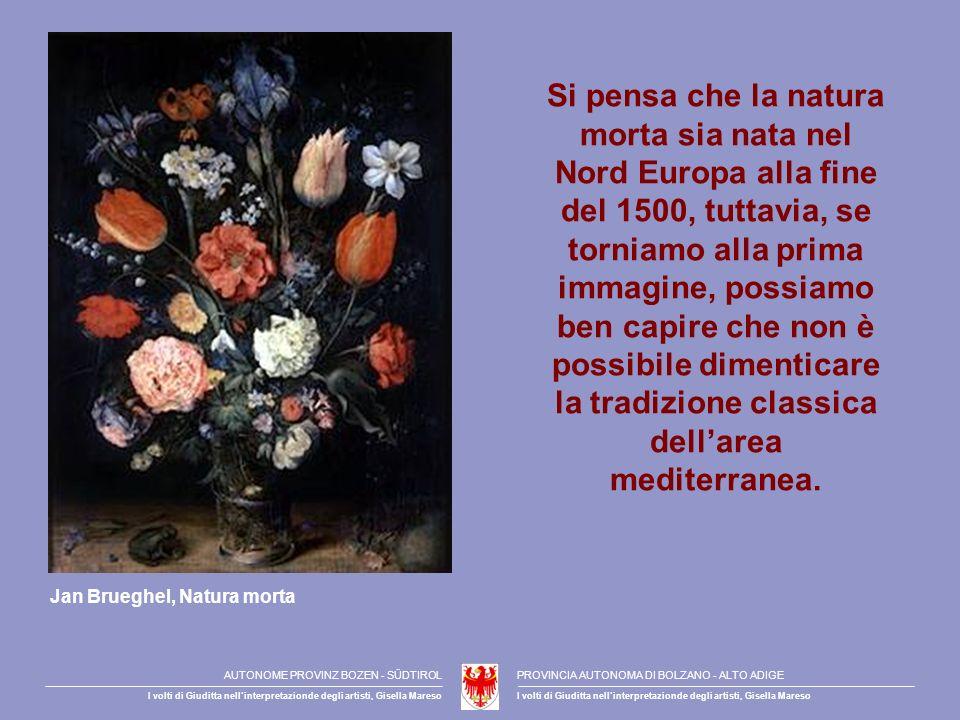 Si pensa che la natura morta sia nata nel Nord Europa alla fine del 1500, tuttavia, se torniamo alla prima immagine, possiamo ben capire che non è possibile dimenticare la tradizione classica dell'area mediterranea.