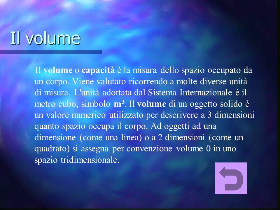 Il volume