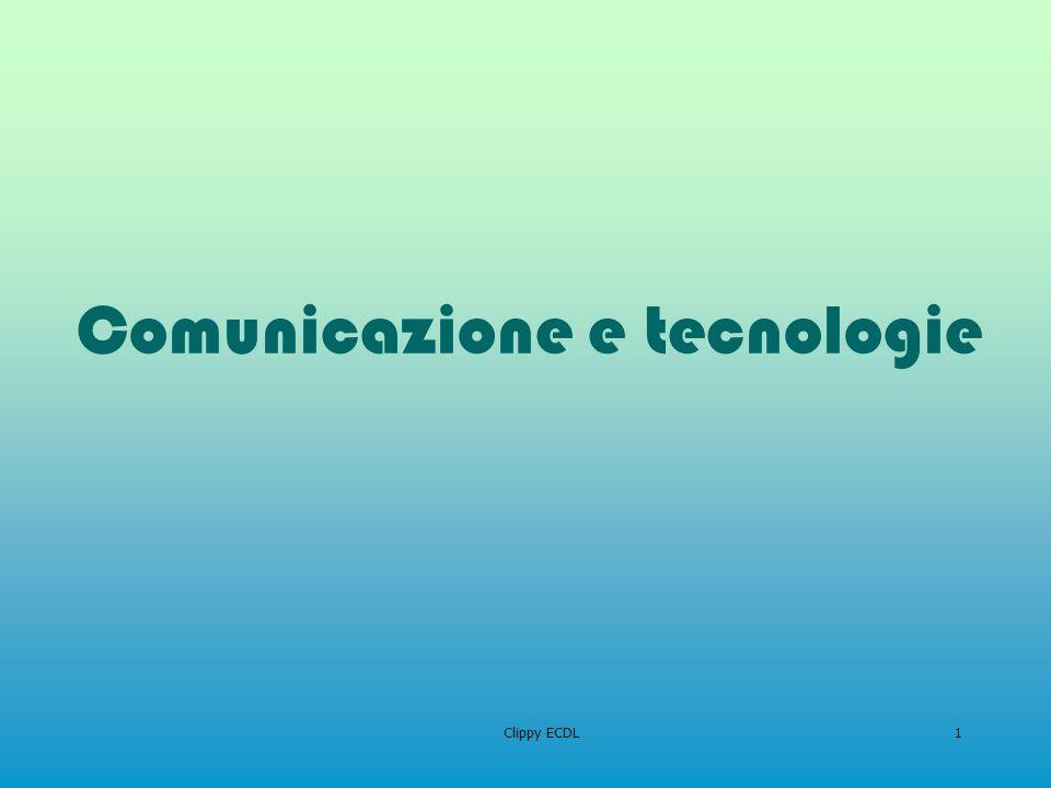 Comunicazione e tecnologie