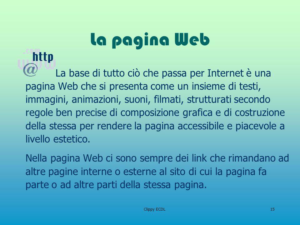 La pagina Web