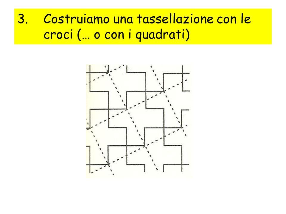 Costruiamo una tassellazione con le croci (… o con i quadrati)