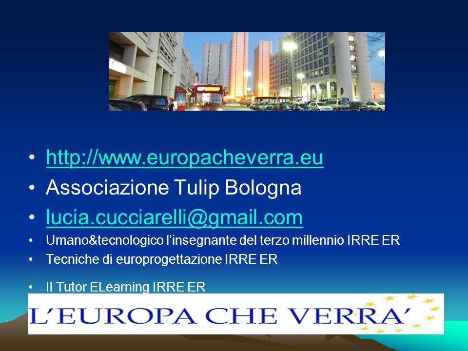 Associazione Tulip Bologna lucia.cucciarelli@gmail.com