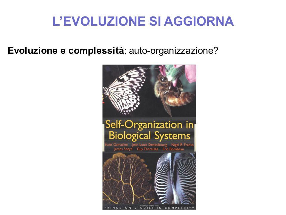 L'EVOLUZIONE SI AGGIORNA