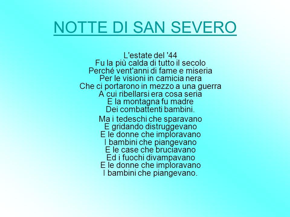 NOTTE DI SAN SEVERO