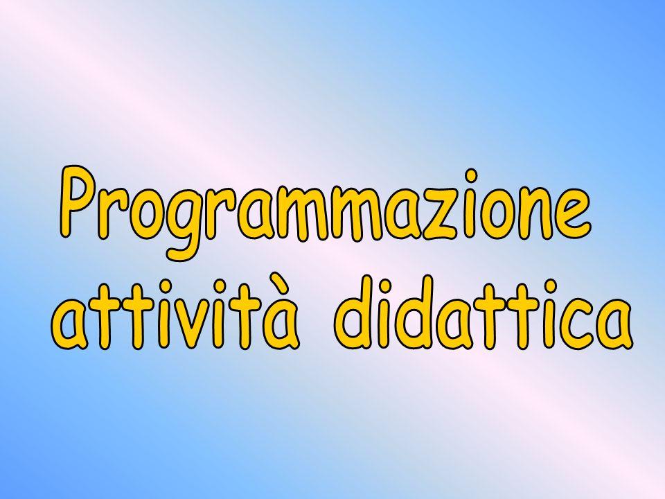 Programmazione attività didattica