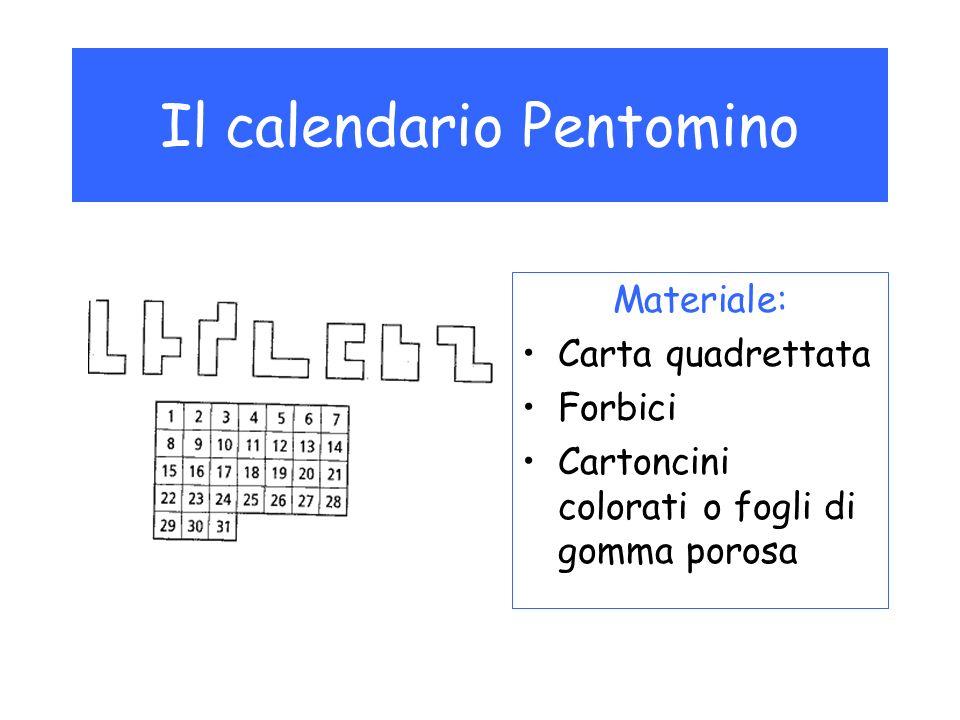 Il calendario Pentomino