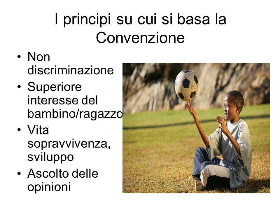 I principi su cui si basa la Convenzione