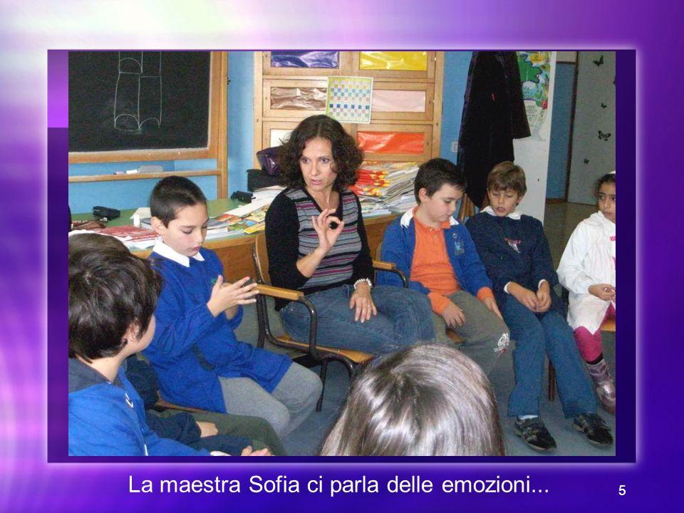 La maestra Sofia ci parla delle emozioni...
