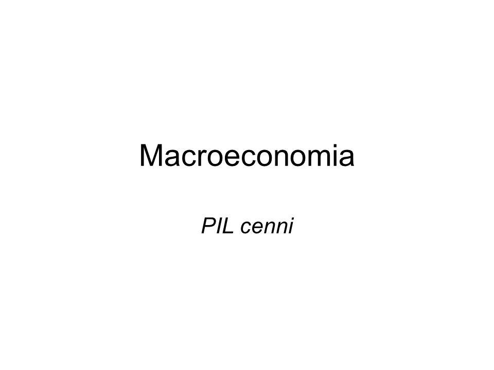 Macroeconomia PIL cenni