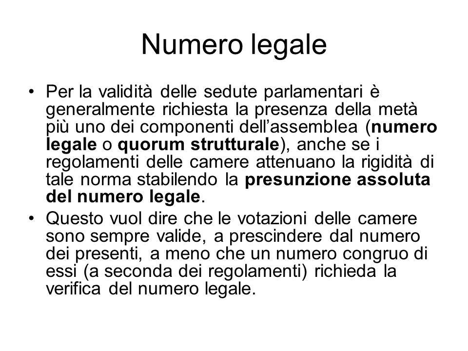 Numero legale