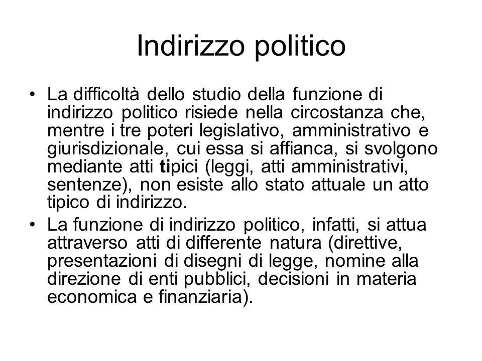 Indirizzo politico