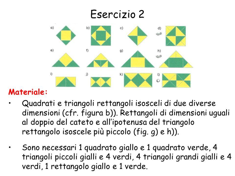 Esercizio 2 Materiale: