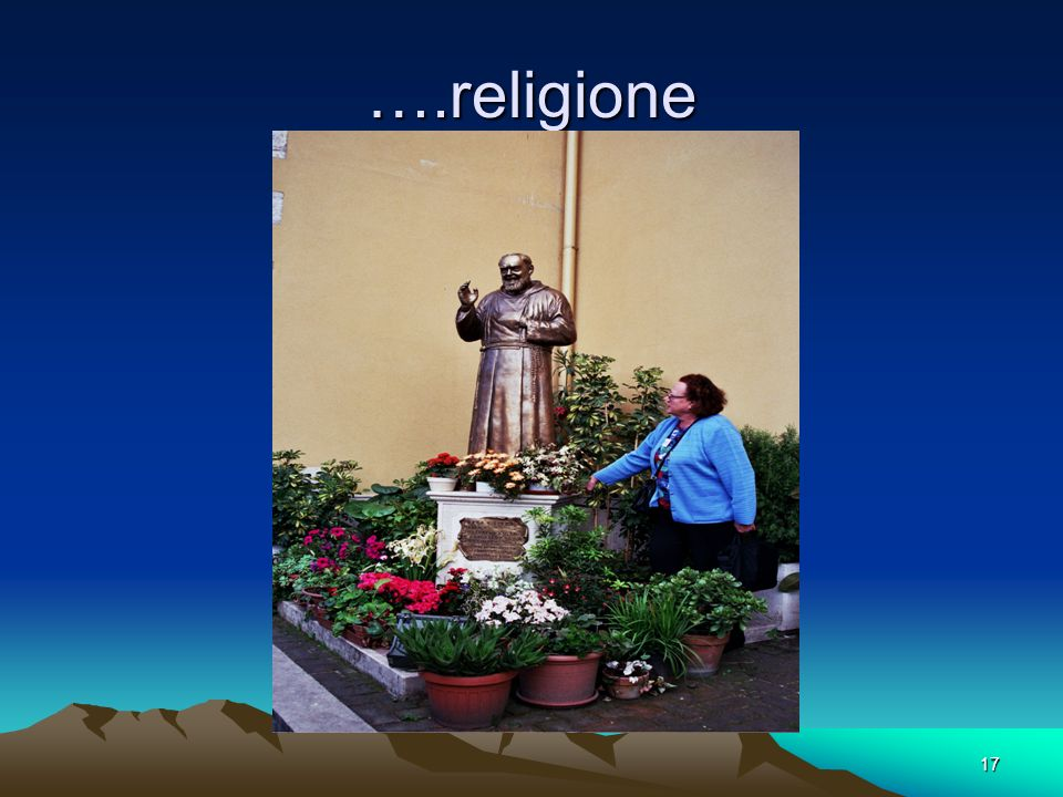 ….religione