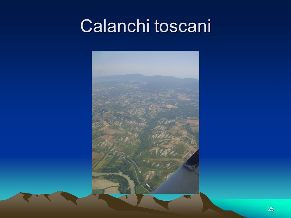 Calanchi toscani