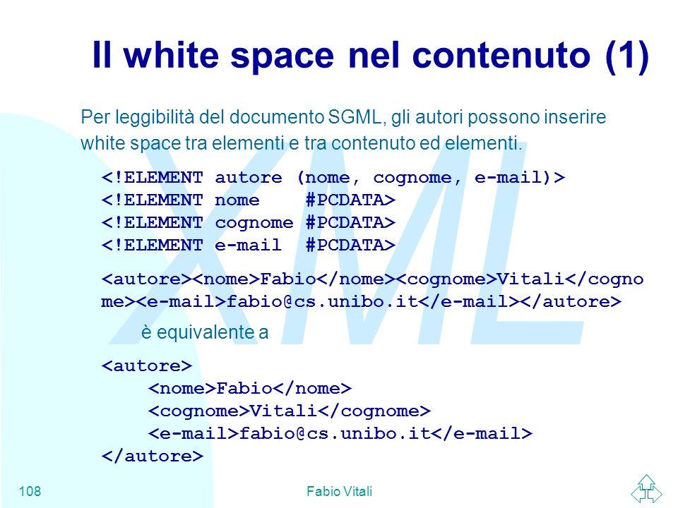 Il white space nel contenuto (1)
