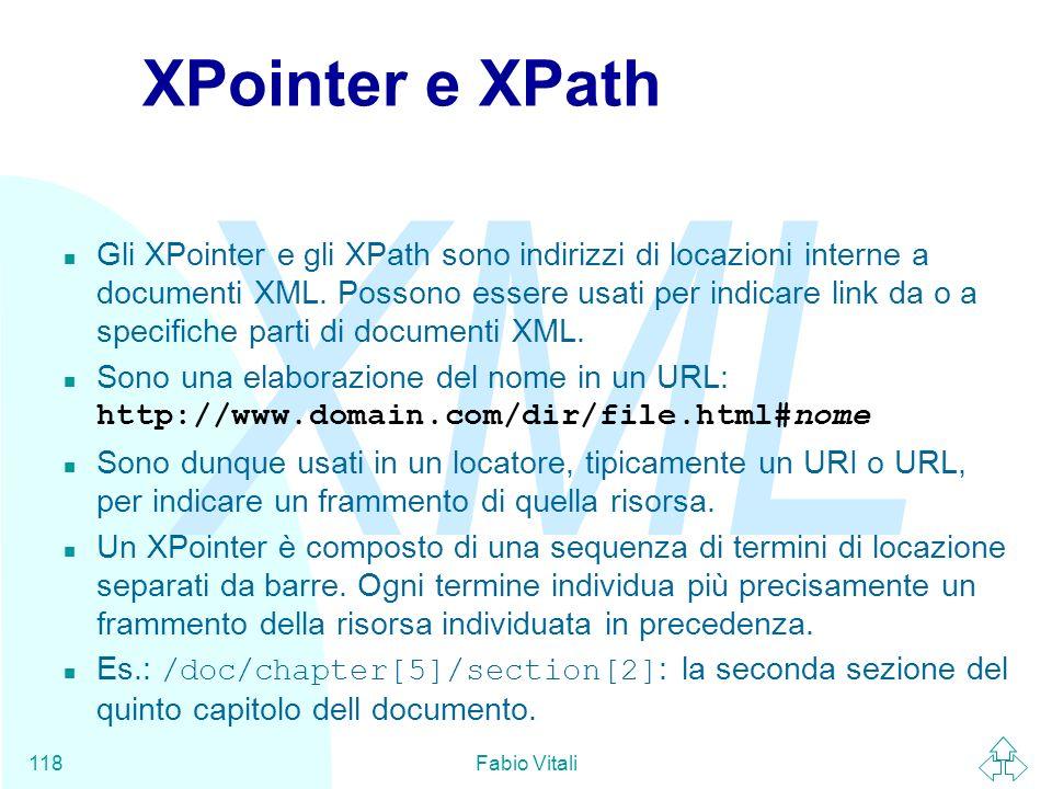 XPointer e XPath