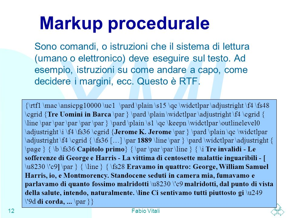 Markup procedurale