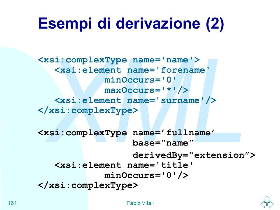 Esempi di derivazione (2)