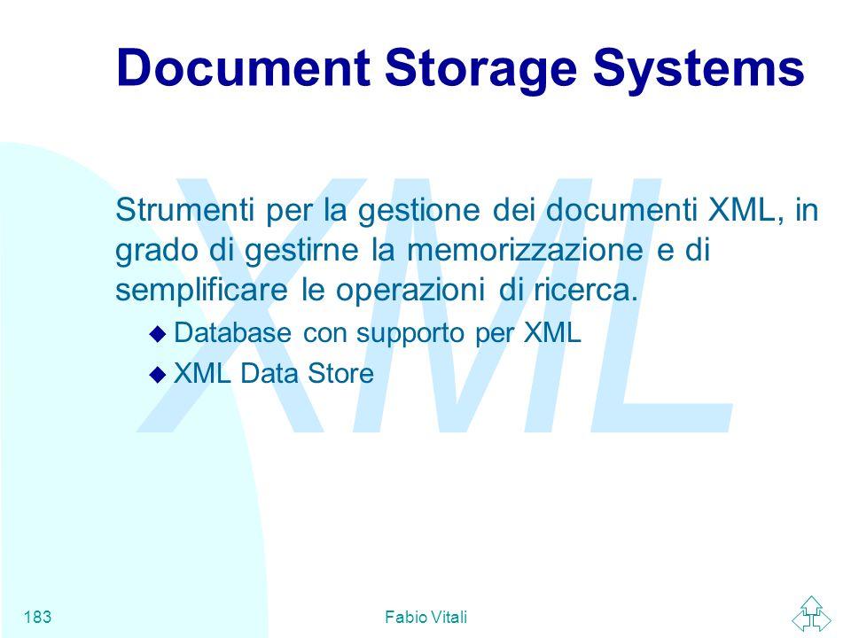 Document Storage Systems