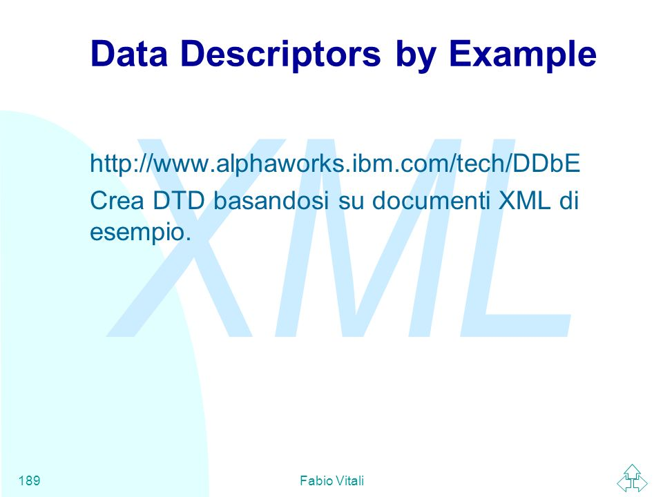 Data Descriptors by Example