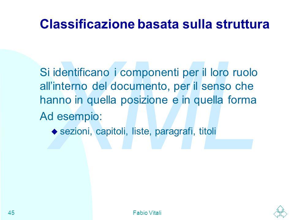 Classificazione basata sulla struttura