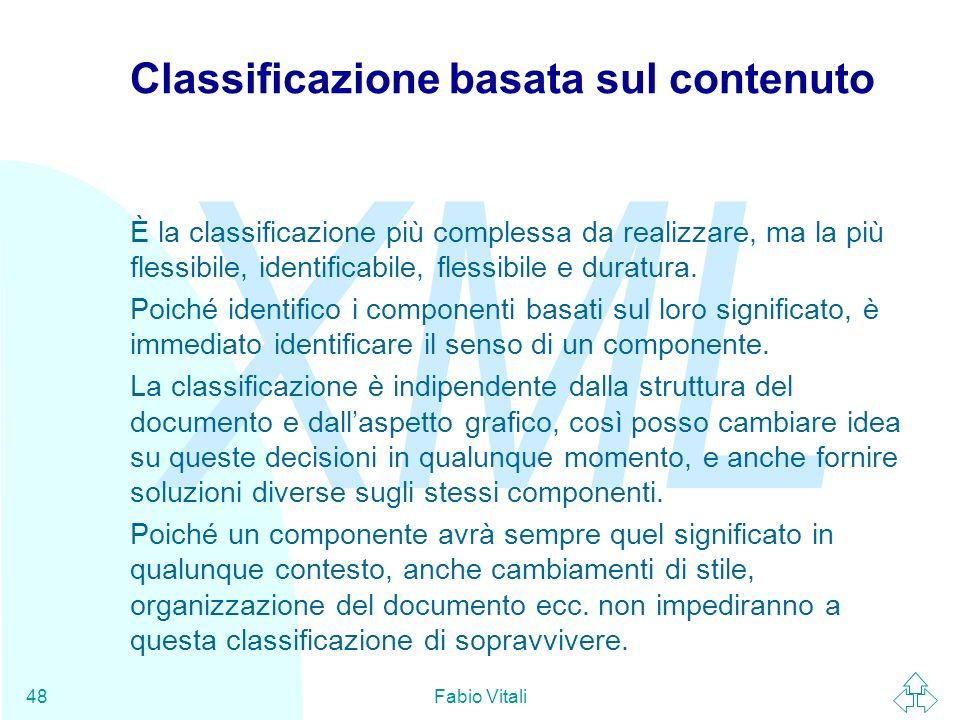 Classificazione basata sul contenuto