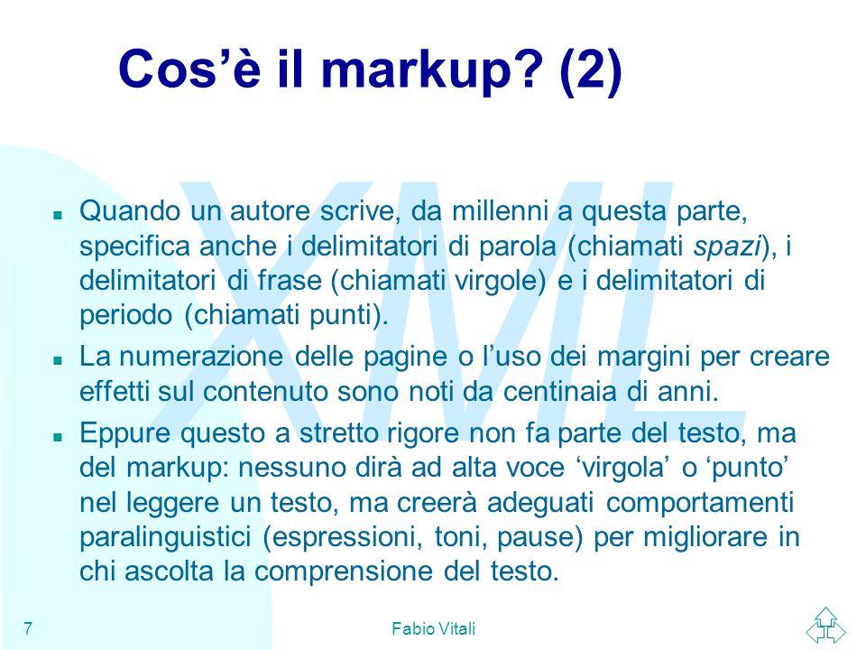 Cos'è il markup (2)