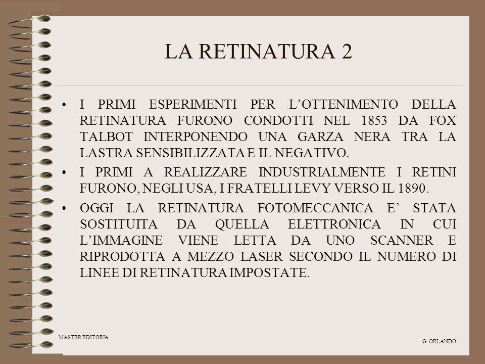 LA RETINATURA 2