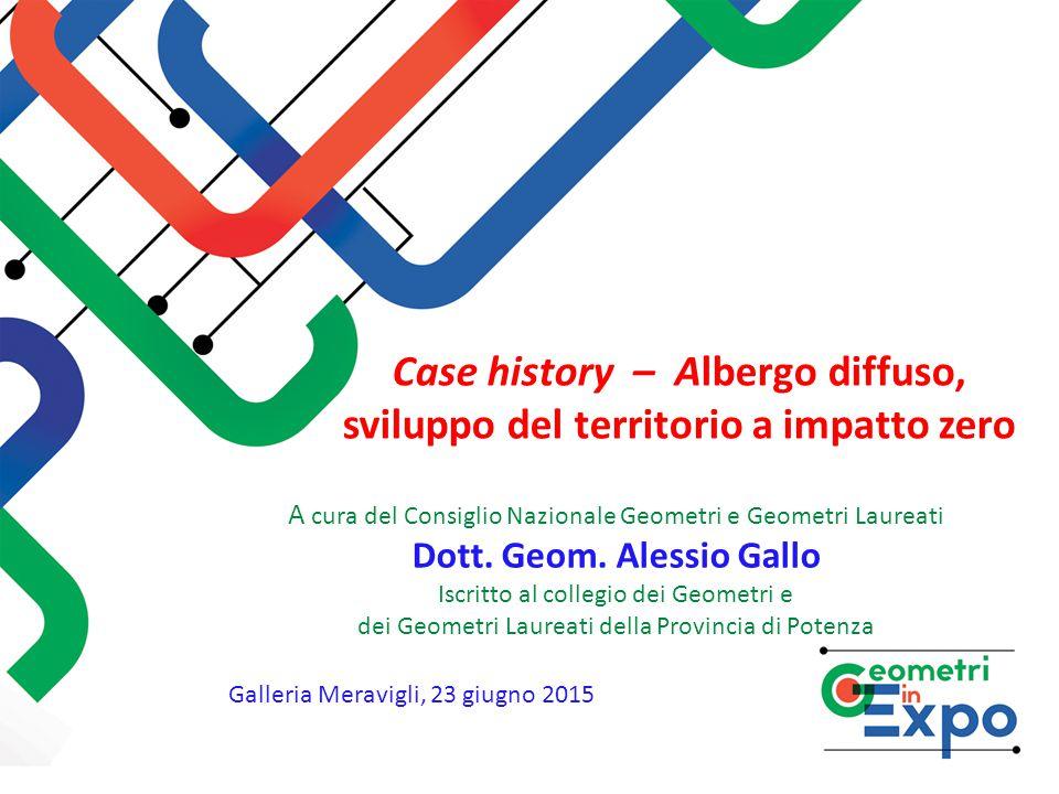 Case history – Albergo diffuso, sviluppo del territorio a impatto zero