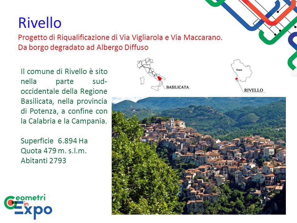 Rivello Progetto di Riqualificazione di Via Vigliarola e Via Maccarano