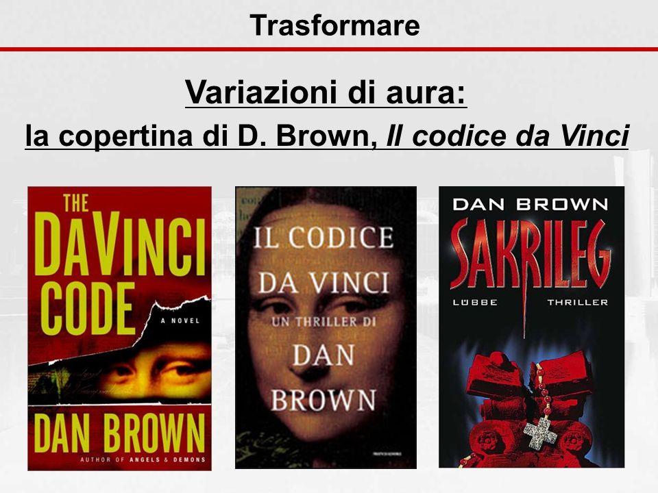 la copertina di D. Brown, Il codice da Vinci
