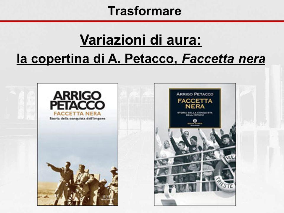 la copertina di A. Petacco, Faccetta nera