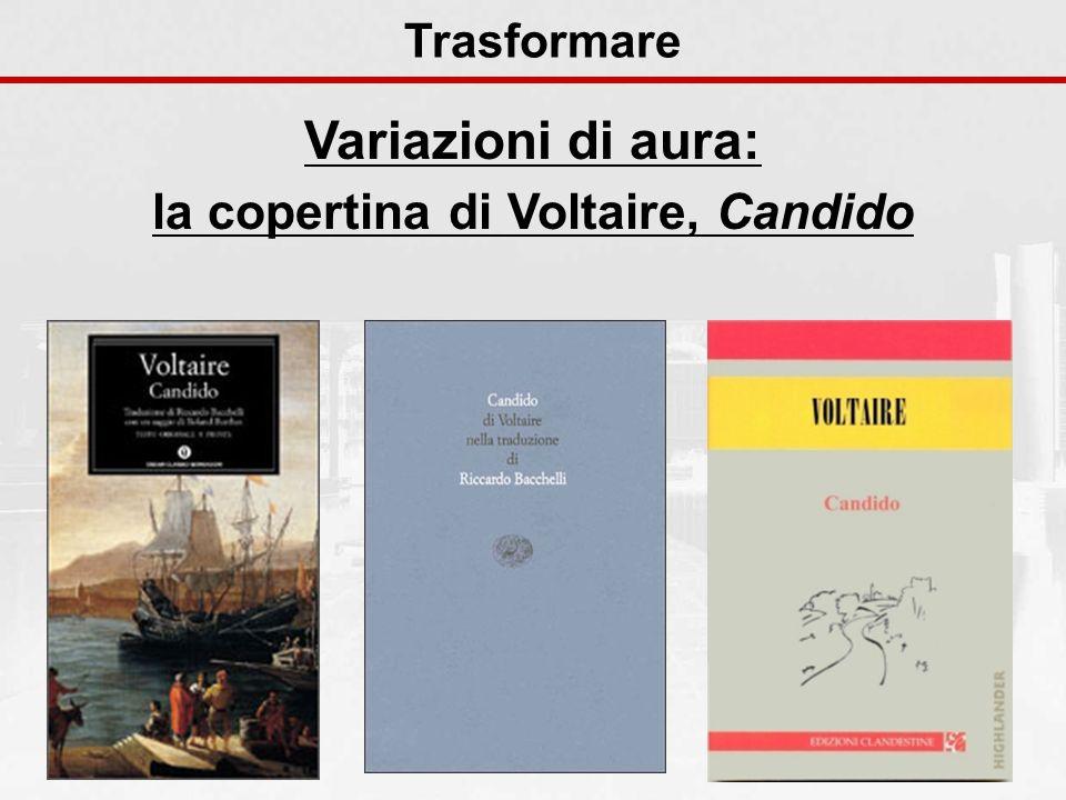 la copertina di Voltaire, Candido