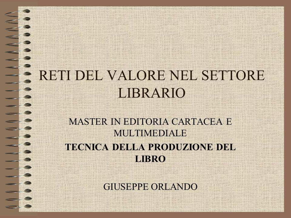 RETI DEL VALORE NEL SETTORE LIBRARIO