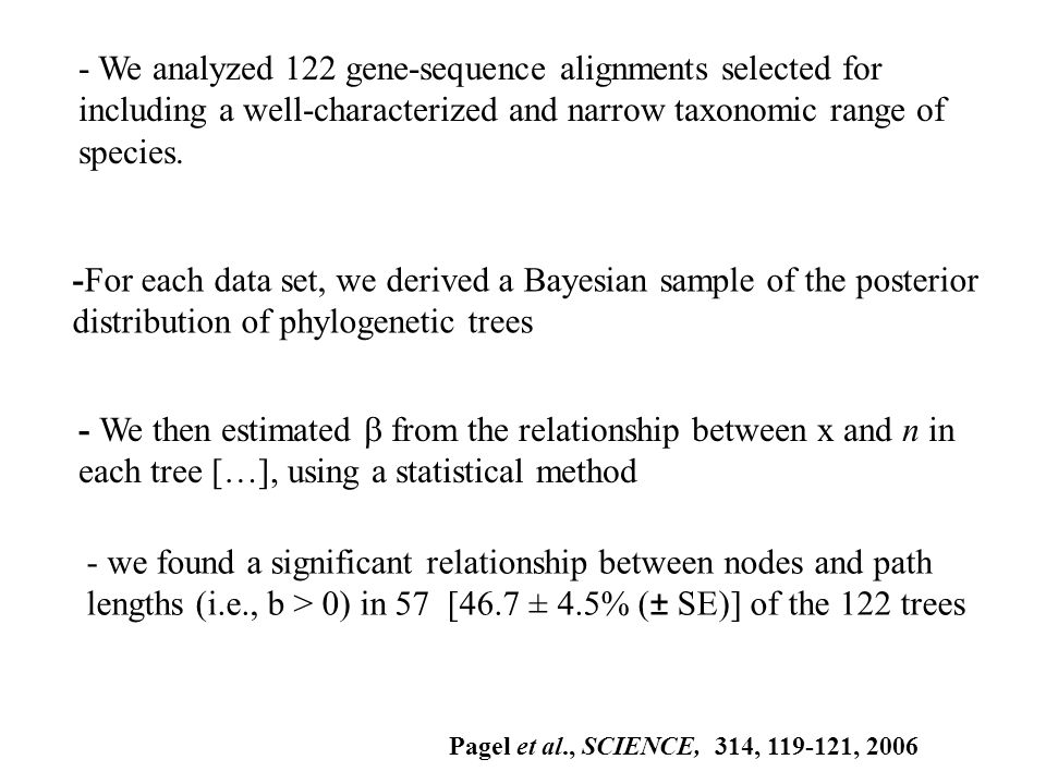 -For each data set, we derived a Bayesian sample of the posterior