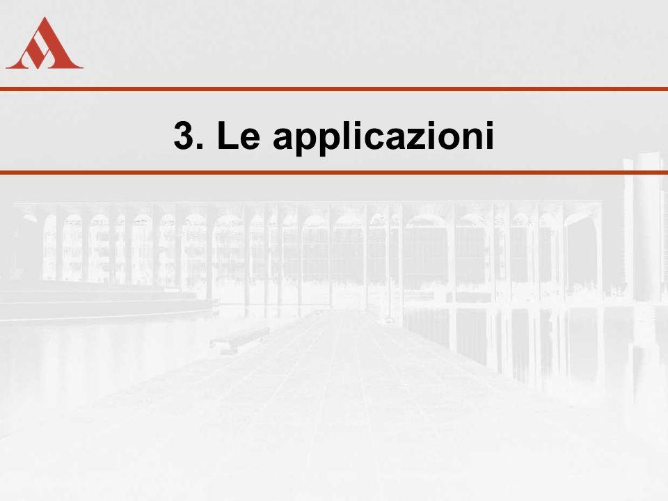 3. Le applicazioni