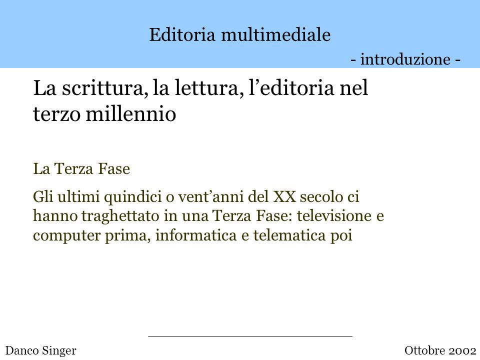 Editoria multimediale