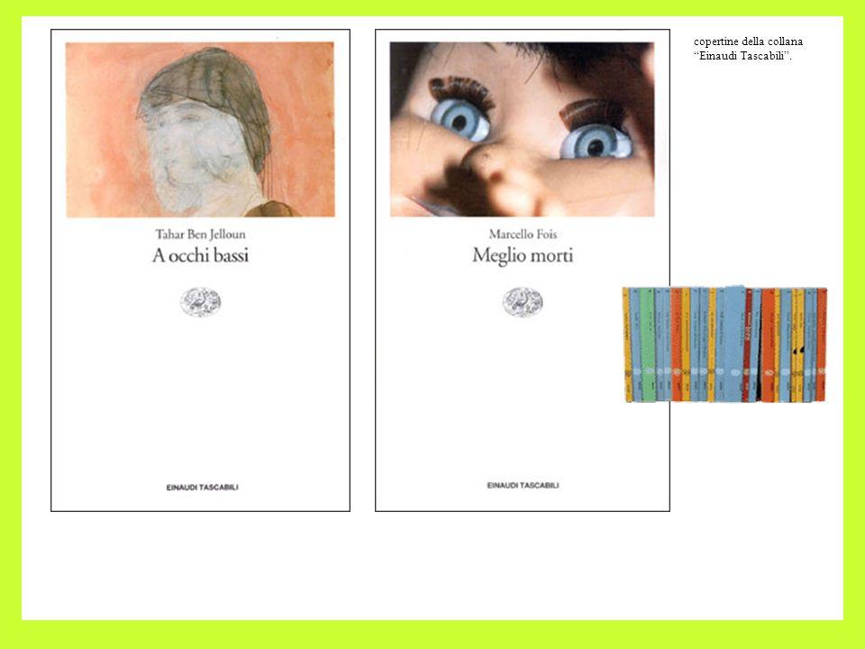 copertine della collana Einaudi Tascabili .