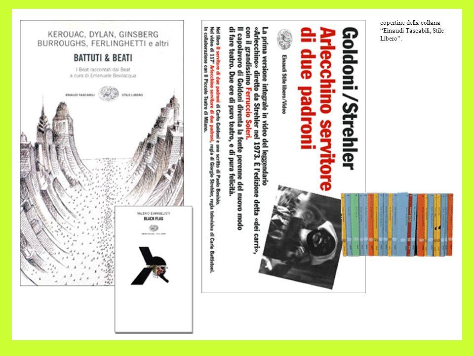 copertine della collana Einaudi Tascabili, Stile Libero .