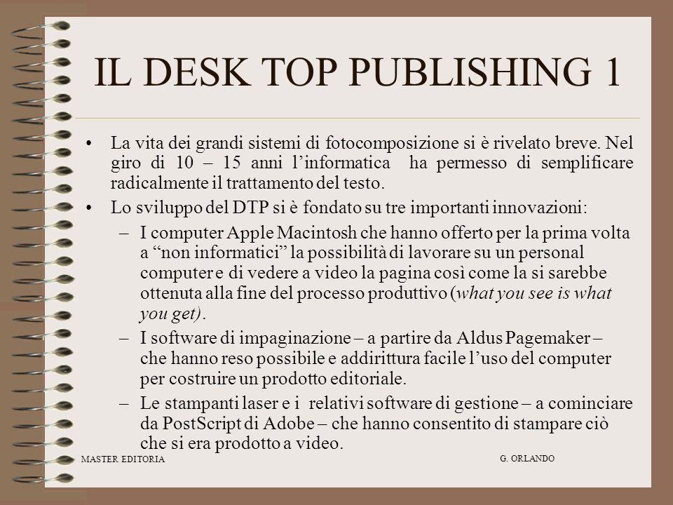 IL DESK TOP PUBLISHING 1